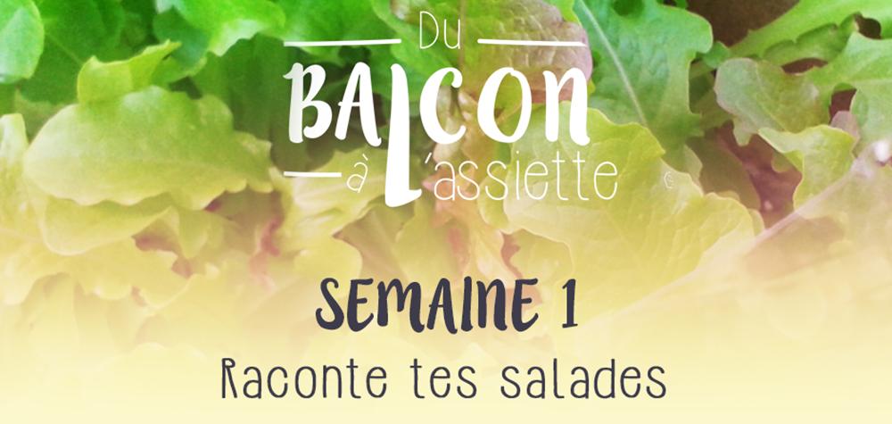 challenge du balcon à l'assiette semaine 1 : raconte tes salades, 1. Un potager sur mon balcon, du bio et du local à chaque saison
