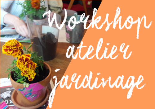 workshop atelier diy jardinage paris