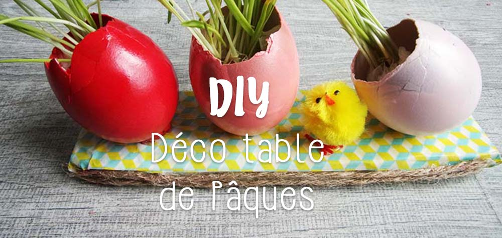 diy d co table de p ques c 39 est dans le sac mon petit balcon. Black Bedroom Furniture Sets. Home Design Ideas